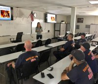 Fire captain starts program to help colleagues with PTSD
