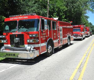 An anonymous wealthy couple is donating a large amount of money to the Cary Fire Protection District. (Photo/CFPD)