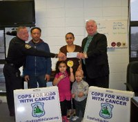Police charity lends helping hand to boy battling cancer