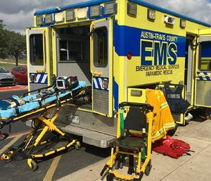 Only four percent of Austin's public safety budget is used for EMS. (Photo/Austin-Travis County EMS)
