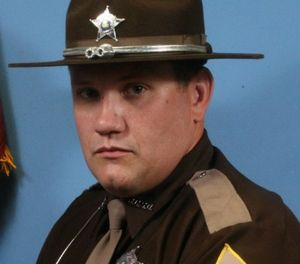 Deputy Jacob Pickett, 34, was pursuing Anthony Baumgardt with his K-9 when he was shot. (Photo/Boone County Sheriff's Office)