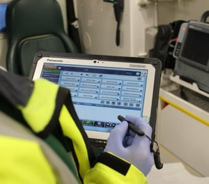 Tools for ePCR featuring connectivity solutions enable your department to import data from your CADS for quicker and more accurate documentation. (Photo/National Ambulance Service Facebook)