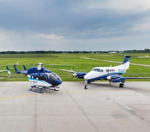Sanford's AirMed service transports patients nationwide, helping to provide care for those in rural areas. (Photo/Sanford AirMed)