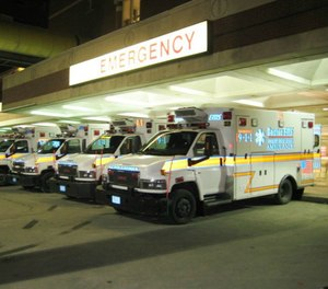 According to the U.S. Occupational Safety and Health Administration, from 2002 to 2013, healthcare workers were four times more likely to experience serious workplace violence than the average private sector worker. (Photo/Boston EMS)