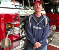 Video: Former fire chief with terminal cancer surprised with Super Bowl tickets