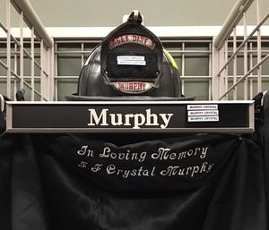 Lacey Fire Department firefighter Crystal Murphy died, according to a Facebook post from the department. (Photo/LFD)