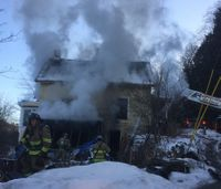 Colleagues rally to support paramedic after house fire