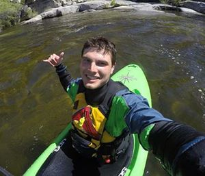 Gold Bar Firefighter's Association firefighter-EMT Sam Grafton was kayaking with friends on a river when he fell into the water and drowned. (Photo/GoFundMe)