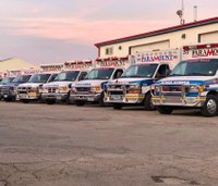 2 Iowa EMS providers hurt in ambulance crash