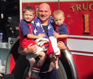 25-year fire veteran Captain Joe Reynolds of the Berryhill Fire Protection District was described as someone who always helped others. (Photo/GoFundMe)