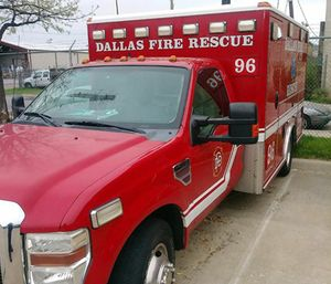 Dallas Fire-Rescue is considering a change to their ambulance policies due to an increase of medical calls that have occurred as a result of a rising population. (Photo/DFR)