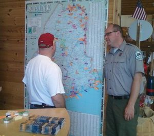 """Park rangers can only """"request"""" visitors to stop breaking the law in state parks, and did not have the power to issue a summons. (Photo/Maine Department of Agriculture, Conservation and Forestry)"""