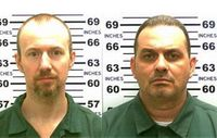 Search continues for 2 escaped murderers