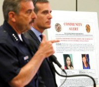 LAPD uses spit from sidewalk to tie suspect to 2 killings