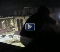 Video: Wis. cop rescues suicidal woman from rooftop