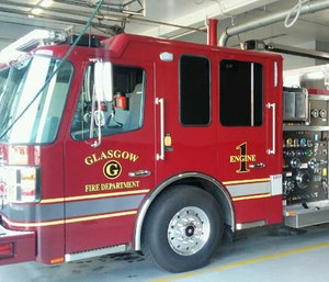 Individuals who want to become a paid firefighter with the Glasgow Fire Department may soon be able to apply when they are 18 years old. (Photo/GFD)