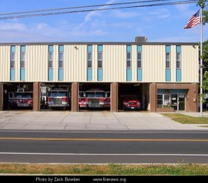 """Many of our fire stations haven't been updated since the 1970s,"" Mayor Erin Stewart said. ""They're very old, and the time has come."" (Photo/New Britain Fire Department)"