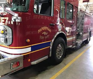 The Naperville Fire Department's new staffing program puts four responders on an eight-hour shift schedule. (Photo/NFD)