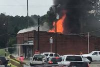 NC fire station destroyed in blaze
