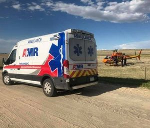 AMR failed to meet the required eight-minute response time on thousands of calls last year, so city officials began negotiating with another company. (Photo/AMR Colorado Springs Facebook)
