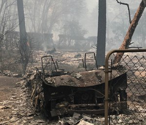 A fundraiser was launched to raise money for EMS providers and their families who lost everything in a wildfire. (Photo/GoFundMe)