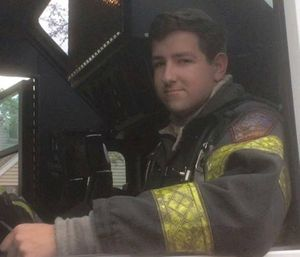 Firefighter Zachary J. Fazekas was 19 years old and had been with the department for two years. (Photo/New Hyde Fire Department)