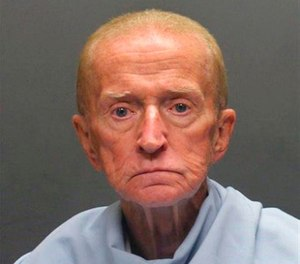This Sunday, Jan. 15, 2018 photo released by the Tucson Police Department shows suspect Robert Francis Krebs, an 80-year-old man they say robbed a credit union at gunpoint. (Tucson Police Department via AP)