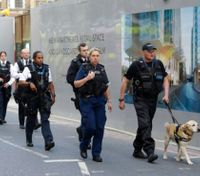 Police arrest 12 after night of terror in heart of London