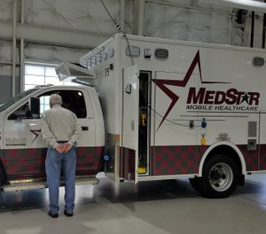 MedStar Mobile Healthcare is at the forefront of adopting powered EMS technology at their services in the Fort Worth, Texas area. (image/ MedStar Mobile Healthcare)