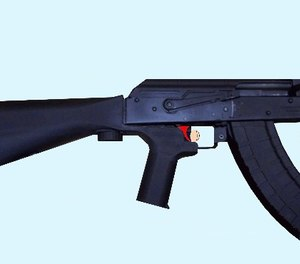 Would banning the sale of bump-fire stocks prevent people from making their own? (Photo/Wikipedia illustration by Phoenix7777)