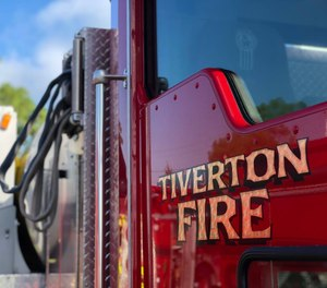 Fire Captain Craig Committo, who is also president of the local firefighter's union, has been suspended with pay for an alleged physical altercation with an 18-year-old tow truck company worker. (Photo/Tiverton Fire Department)