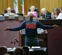 Calif. voters oust final San Diego volunteer fire dept.
