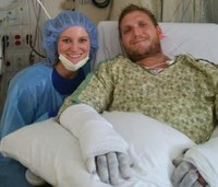 Ga. firefighter undergoes 6th surgery after being badly burned in blaze