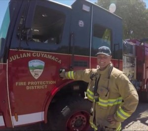 The LAFCO vote to dissolve the district signaled the end of the last volunteer fire department in the region. (Photo/Julian Cuyamaca Volunteer FireFighter Association)