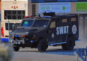 To be a good SWAT cop, you need to be physically fit, have combat-control skills, know how to effectively communicate and be a team player. (Photo/Tomas Del Coro via Flickr)