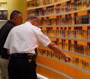 The Hall of Remembrance honors the more than 21,500 officers who have lost their lives in the line of duty. (Photo/National Law Enforcement Museum)