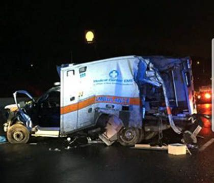 Family of patient killed in ambulance crash files wrongful death lawsuit