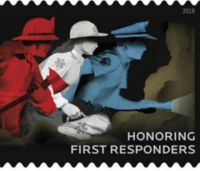 First responders honored with commemorative USPS stamp
