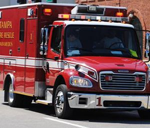 Tampa Mayor Bob Buckhorn said the economy is to blame for the city's aging ambulance fleet. (Photo/Flickr)