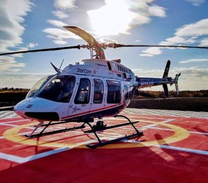 For 30 years, StarCare has provided helicopter transportation for medical emergencies in the region. (Photo/StarCare)