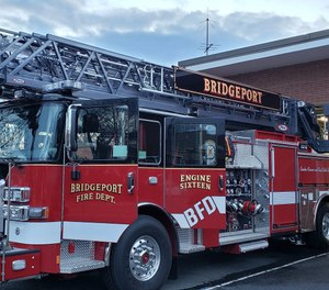 An off-duty city firefighter sustained serious injuries during a hit-and-run in the city on Friday. (Photo/Bridgeport Fire Department)