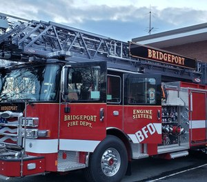 When something goes wrong while firefighters are putting out a fire, that's when the Rapid Intervention Team steps in. (Photo/Bridgeport Fire Department Facebook)
