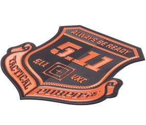 5.11 Tactical today revealed its new line of high-tech ChromaFlex alternatives to traditional metal and embroidered badges. (Image Courtesy of 5.11 Tactical)