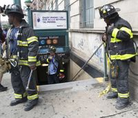 34 injured after NYC subway train derails