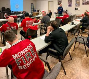 The proposed bill would not prevent cities from annexing territory in fire protection districts. It would, however, help annexed properties in many of those fire districts remain a part of the district, including properties in newly added areas of the district. (Photo/Monroe Fire Protection District Facebook)