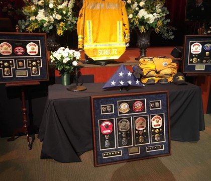 More than 1K pay tribute to Calif. fire chief who died of cancer