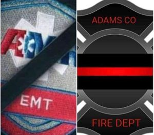 Troy Whittington, 31, and Jason Haley, 34, both Adams County volunteer firefighters were shot to death while at the house of friends and fellow firefighters. (Photo/Adams County Fire Services)