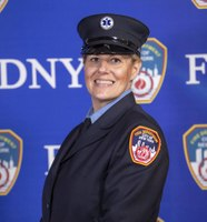 EMT starting 2nd FDNY tour graduates at top of class