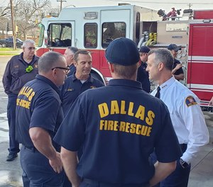 This is an anatomy of a mayday that occurred Nov. 27, 2018, to Dallas Fire-Rescue Department on an apartment fire. It includes interviews and fireground footage with key players explaining their perspective. (Photo/Dallas Fire-Rescue))