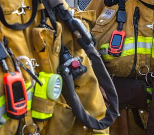 The department previously only required one large thermal imaging device to be present on each apparatus, but now each firefighter will have a TIC on their person while on duty. (Photo/Lost Angeles Fire Department Foundation)